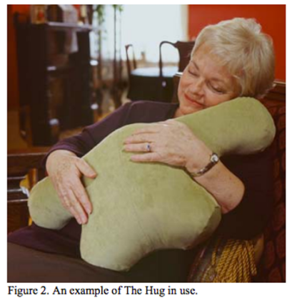 microsoft-hug-pillow-in-use