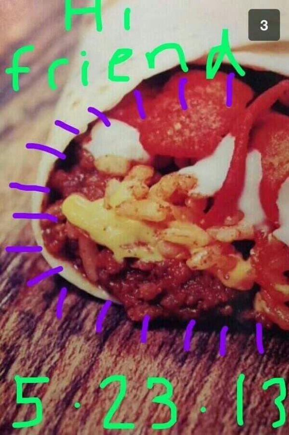 Taco Bell Snapchat