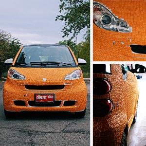 Cheez-It Smart Car