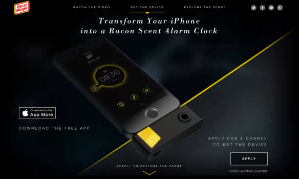 Oscar Mayer Bacon Alarm