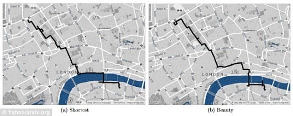 Yahoo Scenic Map Algorithm